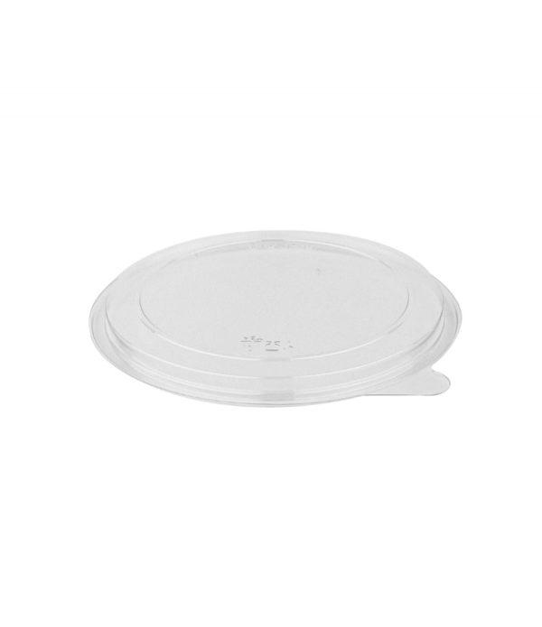 Raven pokrov PET d=131 mm prozoren (50 kos/pak)