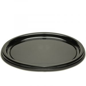 Pladenj  Sabert d=23 cm črn (25 kos/pak)