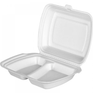 Posodica Lunch-box 2 delna 250x210x35mm, EPS