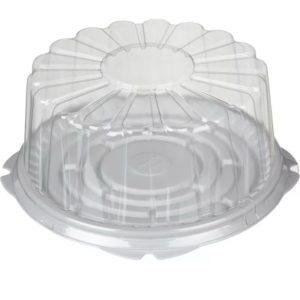 Pladenj za torto d=260mm h=15mm bel, T-230