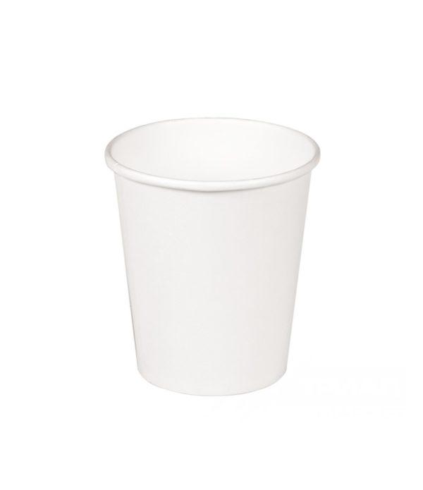 Papirnat kozarec 250 ml d=80 mm 1-slojni bel (50 kos/pak)