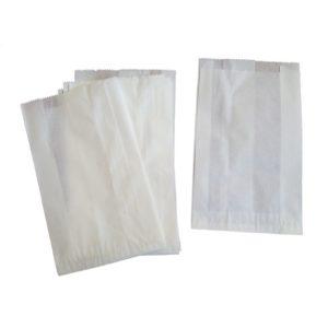 Papirnata vrečka 140х60х240 mm bela (3000 kos/pak)