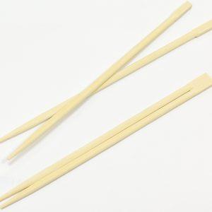 Lesene palčke za azijsko hrano ostre, zavite posamezno (100 kos/pak)