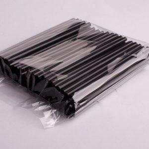 Slamice plastični l=210 mm d=8 mm črne 250 kos/pak