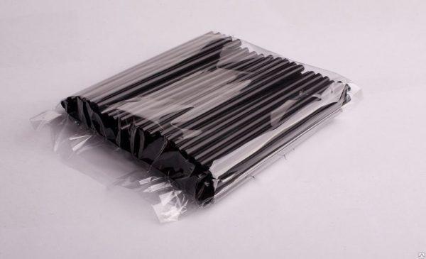 Slamice plastične l=210 mm d=8 mm črne 250 kos/pak
