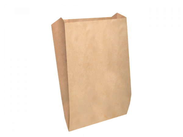 Papirnata vrečka 140х60×250 mm kraft (2500 kos/pak)