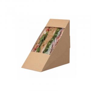 Škatlica za sendvič 123 x 72 x 123 mm (10 kos/pak)