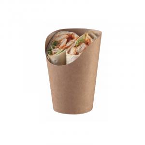 Papirnata skodelica za prigrizek (100 kos/pak)