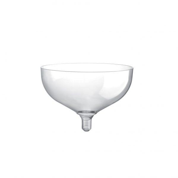 Kozarec za penino – prozoren PS 180 ml Gold Plast (20 kos/pak)