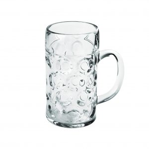 Kozarec za pivo SAN 1000 ml Gold Plast