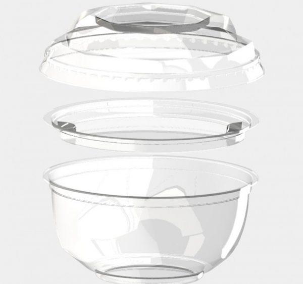 Pokrov za skodelice BOPS d=110 mm prozoren (1000 kos/pak)