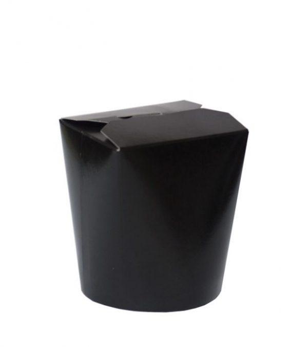 Papirnata posoda za WOK 500 ml črna (480 kos/pak)