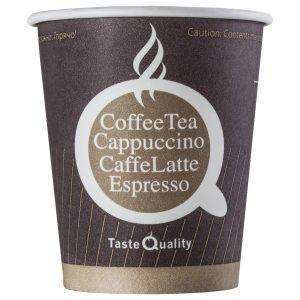 Papirnat kozarec za tople napitke 250 (280) ml COFFEE TQ (75 kos/pak)
