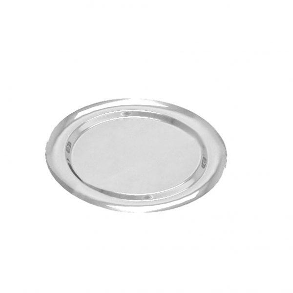 Pladenj PET Gold Plast d=270 mm srebrn (5 kos/pak)