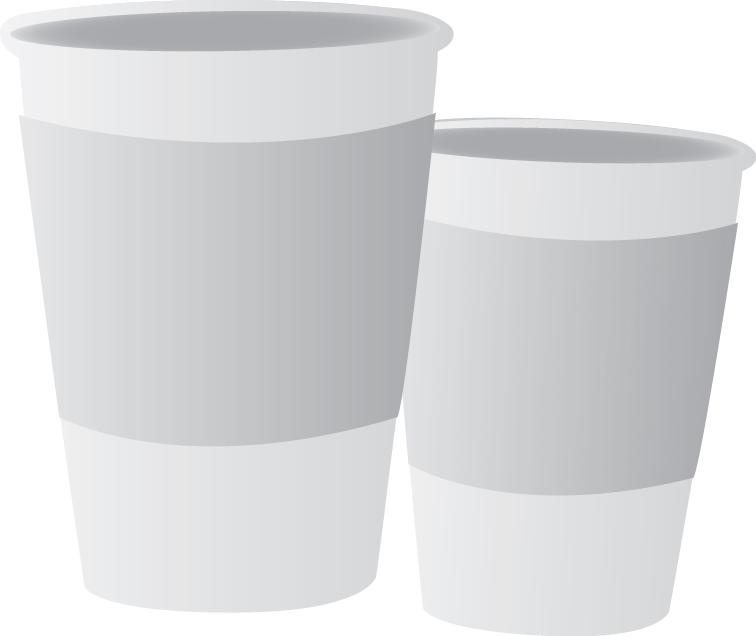 Kozarci in skodelice za enkratno uporabo