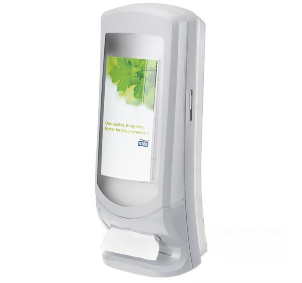 Tork Xpressnap® podajalnik na stojalu sivi (272213)