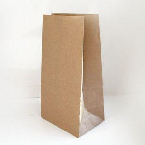 Papirnata vrečka 220 х 120 х 290 mm kraft (1000 kos/pak)