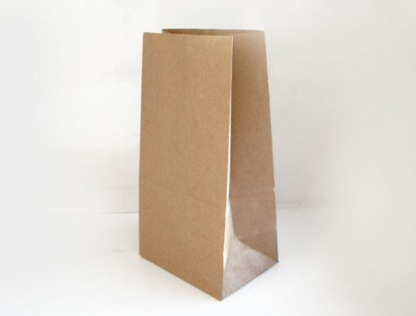 Papirnata vrečka 220х120х290 mm kraft (1000 kos/pak)