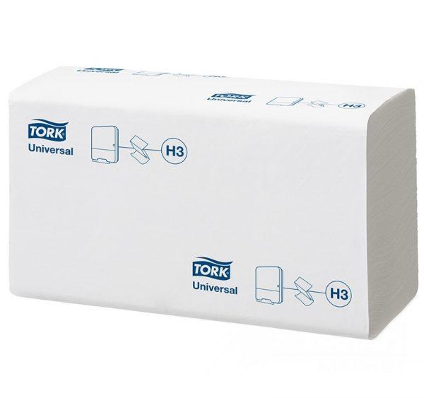 Papirnate brisačke ZZ 1 plast Tork Universal H3 120108