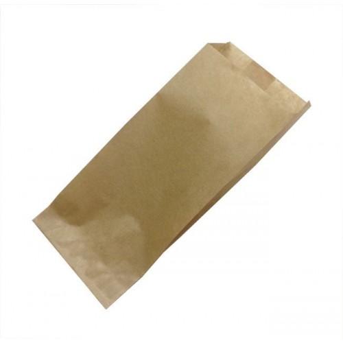 Papirnata vrečka 80х45х185 mm kraft (500 kos/pak)