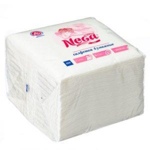 Papirnati prtički NEGA 1-slojni 24 х 24 cm