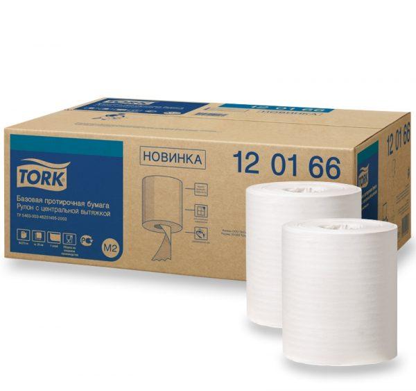 Papirnate brisačke v roli 1-slojne TORK UNIVERSAL M2 275 m bele