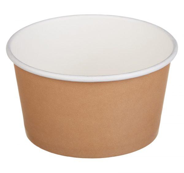 Papirnata posoda Tambien ECO 380 ml d=110 mm h=60 mm kraft (50 kos/pak)