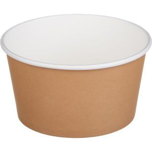 Papirnat kontejner Tambien ECO D=135 mm, h=68 mm, 720 ml, kraft (50 kos/pak)