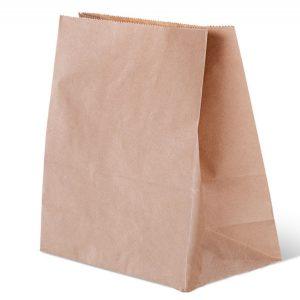 Papirnata vrečka 320x200x340 mm kraft (500 kos/pak)