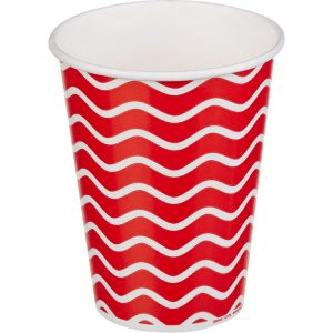 Papirnat kozarec za hladne napitke 300 (364) ml enoslojen LOLIPOP (50 kos/pak)