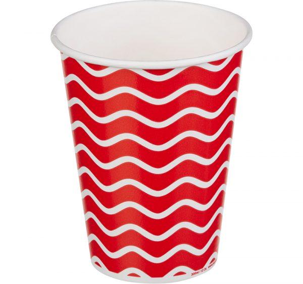 Papirnat kozarec 300 ml d=90 mm 1-slojni Lollipop za hladne napitke (50 kos/pak)