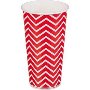 Papirnat kozarec 500 ml d=90 mm 1-slojni Lollipop za hladne napitke (50 kos/pak)