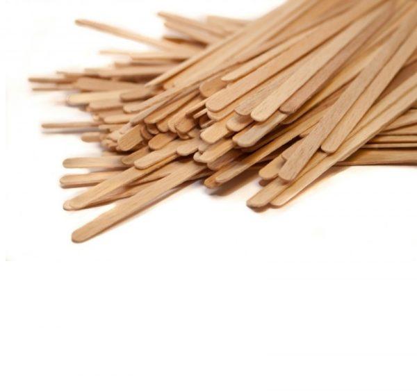 Mešalna palčka lesena 21 cm 1000 kos/pak