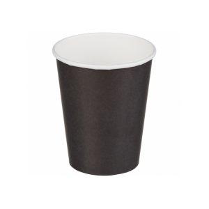 Papirnat kozarec za tople napitke  250 (273) ml črn