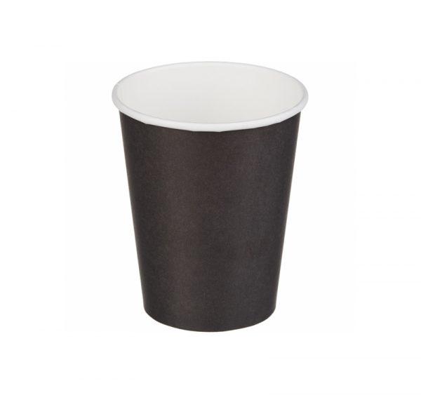 Papirnat kozarec za tople napitke 250 (273) ml črn (50 kos/pak)
