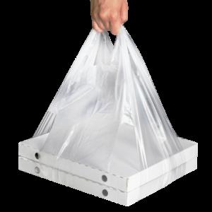 Vrečka majčka LDPE 32+24х60 prozorna 14 μm za škatlo za pico (100 kos/pak)