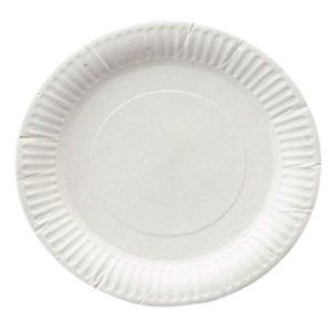 Plošča d = 200 mm, bela (1300 kos/pak)
