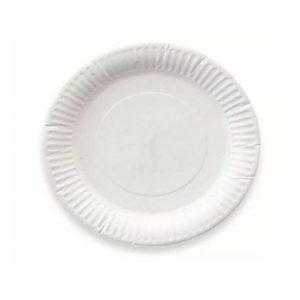 Plošča d = 165 mm, bela (100 kos/pak)