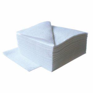 Papirnati prtički, 1 sl, 33 x 33, 300 l/pak Tambien, beli
