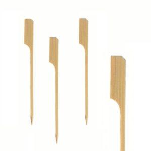 Bambusova nabodala za kanapeje Golf, 12 cm, 100 kos/pak