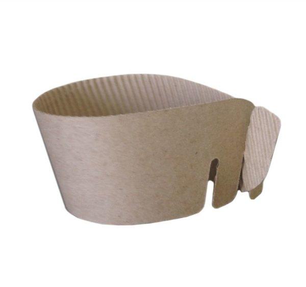Univerzalni kartonski rokav za kozarce (1000 kos/pak)