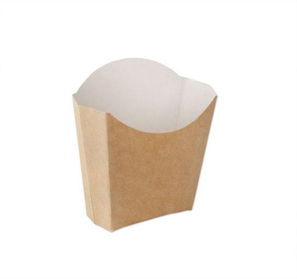 Žepek za krompirček ECOLINE, 100 g, kraft (500 kos/pak)