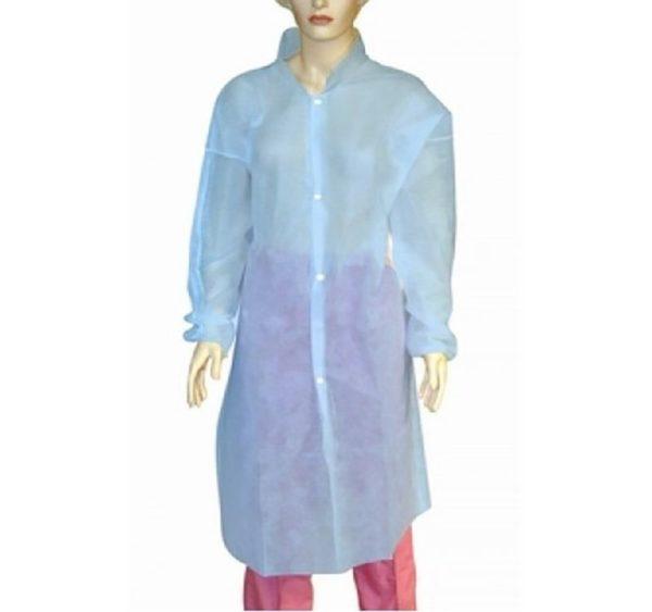 Zašćitna obleka iz netkanega materiala, L 52-54, 5 kos/pak, modra