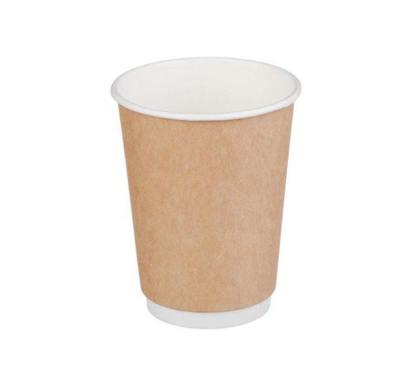 Papirnat kozarec 300 ml d=90 mm 2-slojni kraft (25 kos/pak)
