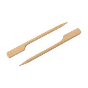 Bambusova nabodala za kanapeje Golf, 9 cm, 100 kos/pak