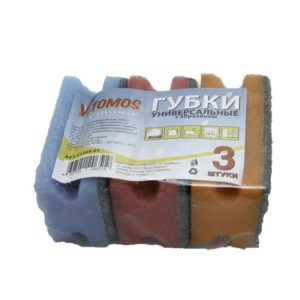 Gobica ToMoS z abrazivom, 85 x 64 x 42 mm, 3 kos