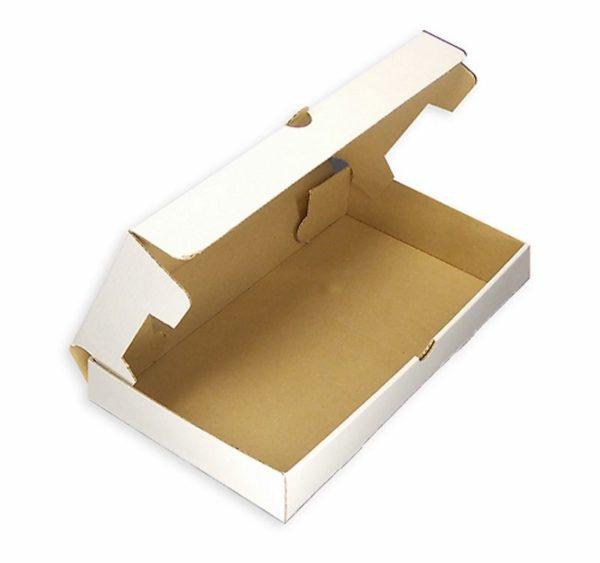 Papirnata posoda 330×230 mm bela mikro-val karton (50 kos/pak)