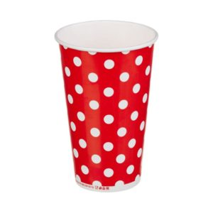 Papirnat kozarec 1 sl, 400 / 518 ml,  d = 90 mm, za hladno, lollipop (50 kos/pak)