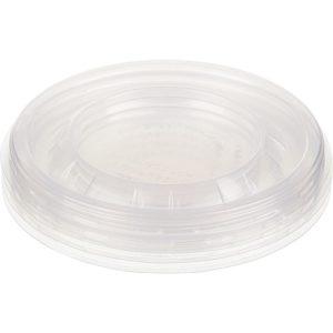 Pokrov PP Sabert d=130 mm prozoren (100 kos/pak)