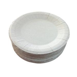 Okrogel krožnik d=230 mm bel (250 kos/pak)